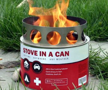 Survival Camping Stove in a Can