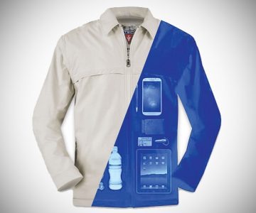 The Tech Jacket with 24 Pockets