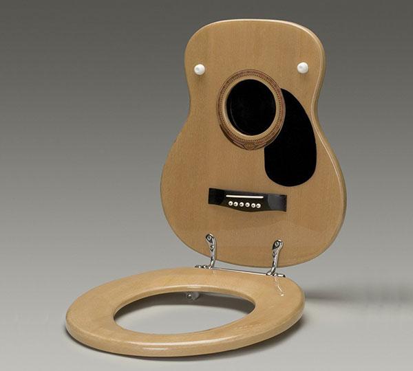 Toilet Guitar Seat