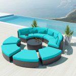 Turquoise Round Patio Furniture