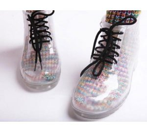Womens Transparent Rain Boots