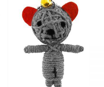 Yoo Dara Doll Keychain