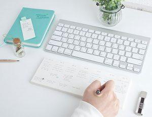 Keyboard Memo-pad Weekly Planner