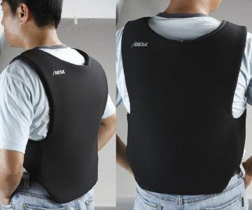 Lightweight Wearable Laptop Vest