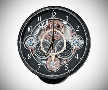 Musical Motion Wall Clock