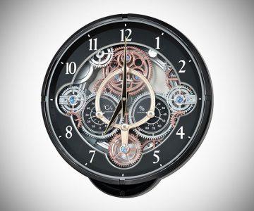 Musical Motion Wall Clock
