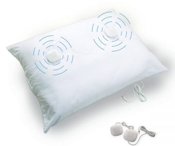 Sleep Therapy Pillow With Speakers