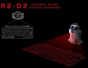 StarWars R2D2 Virtual Keyboard