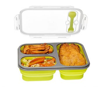 Three Compartment Food Container