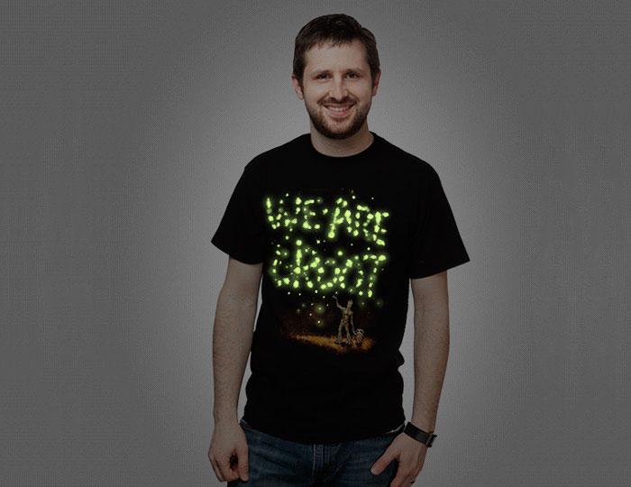 We are Groot Glow in the Dark Tshirt