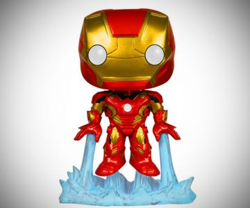 Iron Man Bobble Head Action Figure