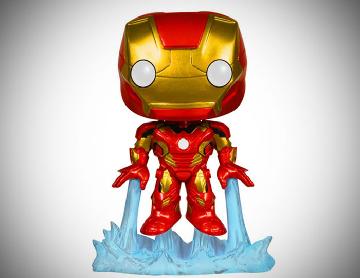 Iron Man Bobble Head Action Figure
