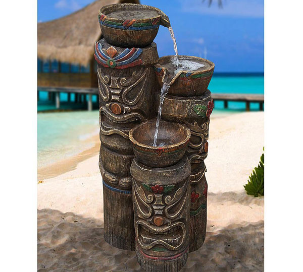 3 Tiki's Fountain