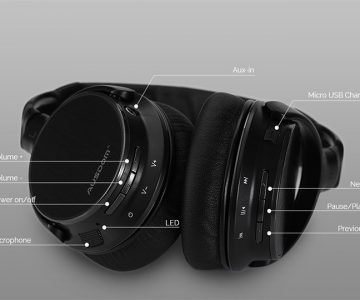 Ausdom M06 Wireless Bluetooth Headphones
