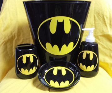 Batman Bathroom Accessory Set