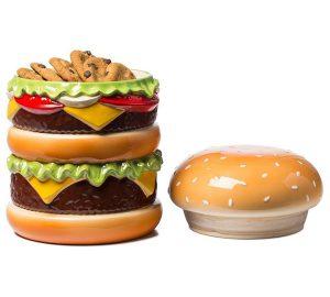 Cheeseburger Cookie Jar