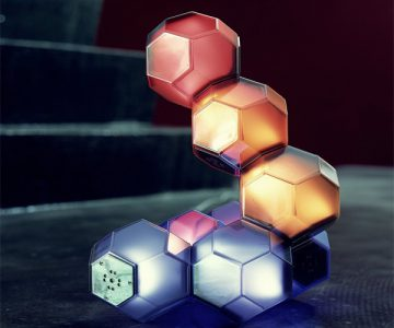 Crystal LED Light QisDesign