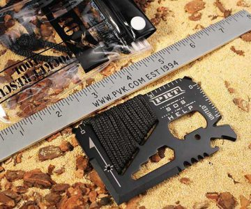 Kommando Rescue Credit Card Pocket Tool