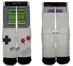 Nintendo Game Boy Sublimation Crew Socks
