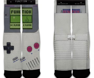 Nintendo Game Boy Sublimation Crew Socks