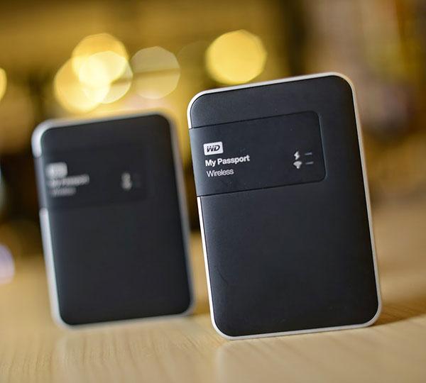 Passport Wireless Wi-Fi Mobile Storage