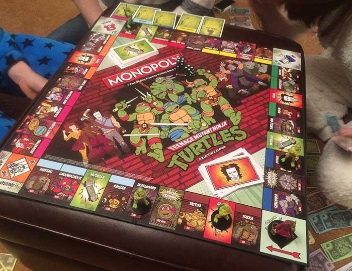 Teenage Mutant Ninja Turtles Monoply