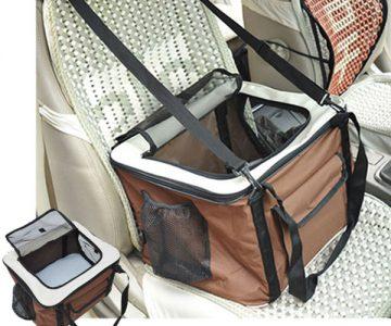Folding Pet Carrier Car Travel Bag