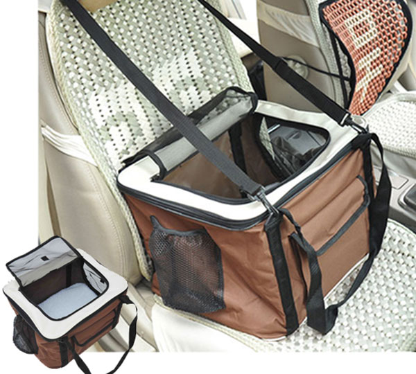 Folding Pet Carrier Car Travel Bag