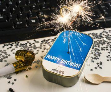 Happy Birthday Sparkling Wonder Cake