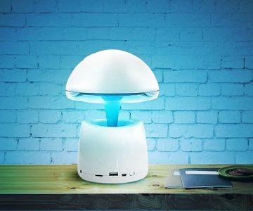 LED Magic Lamp with Bluetooth Speaker