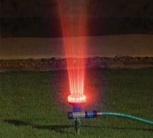 Water And Light Show Garden Sprinkler