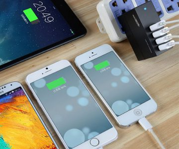 Smart High Capacity 4 Port USB Wall Charger