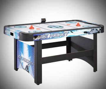 Air Hockey Table with Electronic Scoring