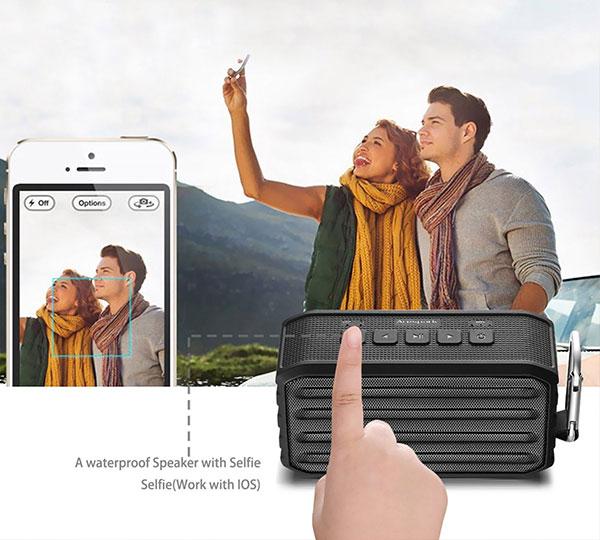 Arespark Portable Wireless Bluetooth Speaker