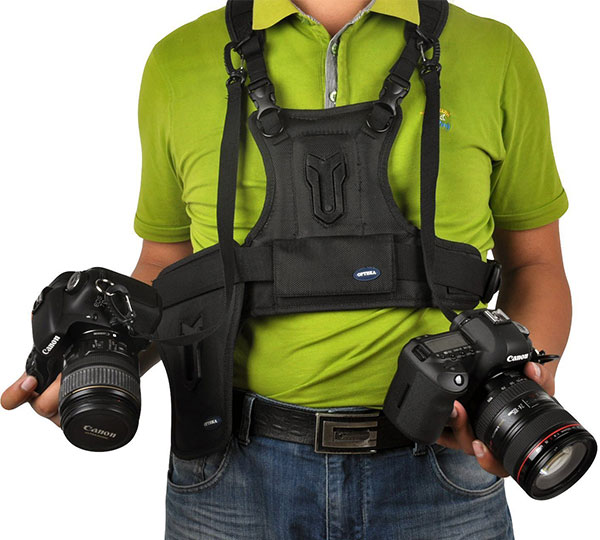 DSLR Carrier Harness Holster System
