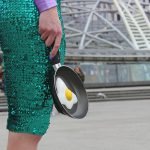 Egg Clutch Frying Pan Bag Purse