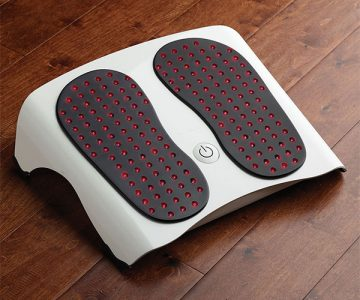 Foot Pain Reliever with LED Lights