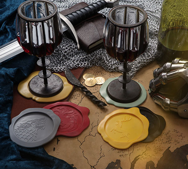 Game of Thrones Wax Seal Coasters