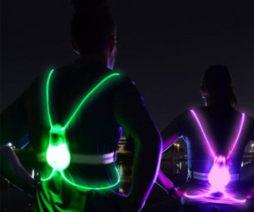 The Glowing Safety Visibility Vest