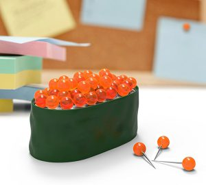 Maki Tacks Sushi Caviar Pushpins