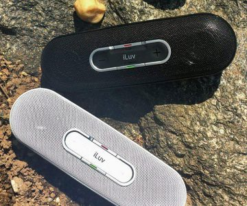 iLuv Rollick Portable Wireless Bluetooth Stereo Speaker