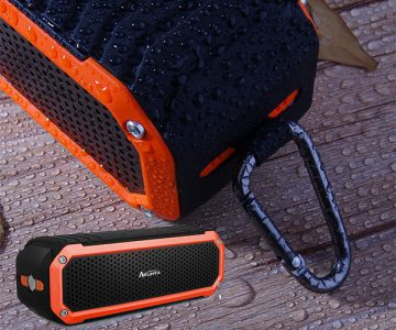 Afunta Waterproof Portable Wireless Speaker