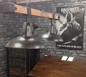 Black Ops Pendant Light