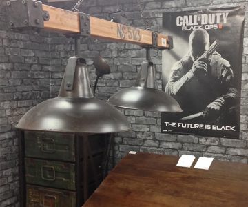 Black Ops Pendant Light