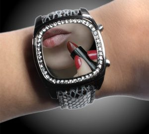 Digital Mirror Watch