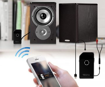 Geartist Wireless Stereo Transmitter & Audio Receiver