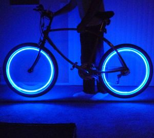 Glow Bicycle Wheel Neon Light Bulb