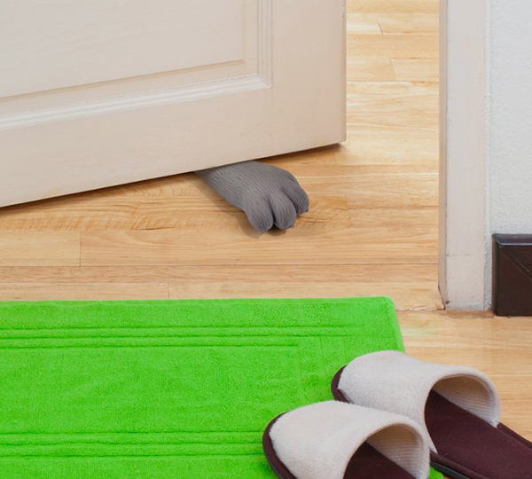 Here Kitty Doorstop