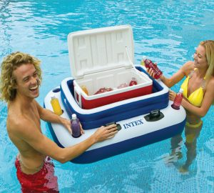 Inflatable Floating Beverage Cooler