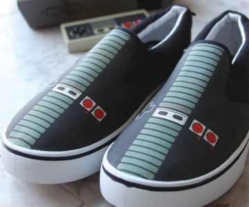 NES Nintendo Controller Canvas Shoes